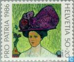 Briefmarken - Schweiz [CHE] - Gemälde