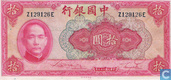 Billets de banque - Bank of China - Yuan Chine 10