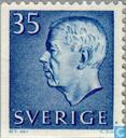 Timbres-poste - Suède [SWE] - 35 bleu