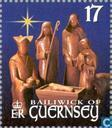 Postage Stamps - Guernsey - Biblical scenes