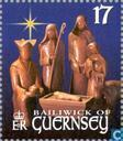 Timbres-poste - Guernesey - Scènes bibliques