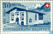 Postzegels - Zwitserland [CHE] - Berg-huizen