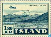 Postage Stamps - Iceland - 180 blue