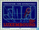 Postage Stamps - Luxembourg - International Fair