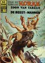 Bandes dessinées - Korak - De beest-mannen