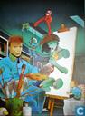 Poster - Comic books - VERKEERDE RUBRIEK --> STRIP-EXLIBRIS/PRENT Hommage