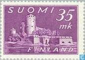 Briefmarken - Finnland - Burg Olavinlinna
