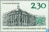 Postage Stamps - France [FRA] - Customs Council- cooperation