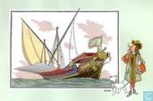 "Comics - Kuifjesbon producten - Chromo's ""Zeevaart I"" 49"
