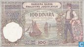Bankbiljetten - Narodna Banka Kraljevine Jugoslavije - Joegoslavië 100 Dinara (P27a)