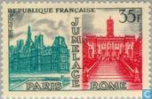 Postage Stamps - France [FRA] - Twinning Paris - Rome
