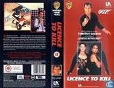 DVD / Video / Blu-ray - VHS video tape - Licence to Kill