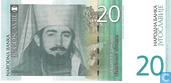 Jugoslawien 20 Dinara 2000