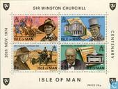 Briefmarken - Man - Sir Winston Churchill