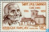 Briefmarken - Frankreich [FRA] - Heilige Jean Baptiste Vianney