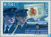 Postage Stamps - Italy [ITA] - 150 years of State police
