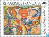 Timbres-poste - France [FRA] - Tableau Bram Van Velde