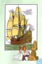 "Strips - Kuifjesbon producten - Chromo's ""Zeevaart I"" 54"