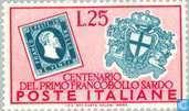 Stamp Anniversary Sardinia