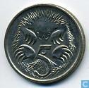 Munten - Australië - Australië 5 cents 1992