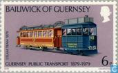 Postage Stamps - Guernsey - 100 years of public transport