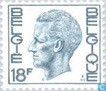 Timbres-poste - Belgique [BEL] - Le Roi Baudouin (Elström)