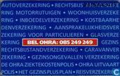 Phone cards - PTT Telecom - OHRA, 1995 Het jaar van de klant