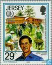 Postzegels - Jersey - Int. Jaar van de Jeugd