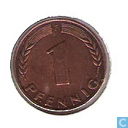 Coins - Germany - Germany 1 pfennig 1948 (F)