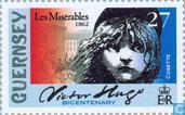 Postage Stamps - Guernsey - Hugo, Victor 1802-1885