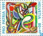 Postage Stamps - Switzerland [CHE] - Arts and culture 700 years