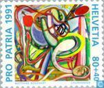 Timbres-poste - Suisse [CHE] - Arts et culture 700 années
