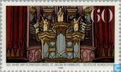 Postage Stamps - Germany, Federal Republic [DEU] - Arp Schnitger organ 1689-1989
