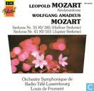 Disques vinyl et CD - Orchestre Symphonque de Radio-Télé-Luxembourg - Leopold Mozart / Wolfgang Amadeus Mozart