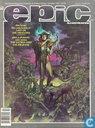 Bandes dessinées - Epic Illustrated (tijdschrift) (Engels) - Nummer 20