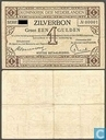 Bankbiljetten - Zilverbon Nederland - 1 gulden Nederland 1916