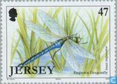 Postage Stamps - Jersey - Insects