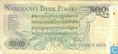 Billets de banque - Pologne - 1952-1989 People's Republic - Pologne 5.000 Zlotych 1982