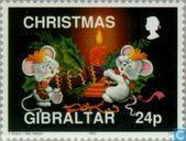 Briefmarken - Gibraltar - Weihnachten
