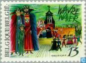 Postage Stamps - Belgium [BEL] - Folklore - Wavre