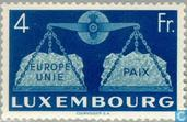 Postage Stamps - Luxembourg - Vereningd Europe