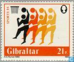 Timbres-poste - Gibraltar - Sports