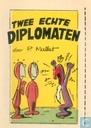 Strips - Robbedoes (tijdschrift) - Twee echte diplomaten