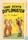 Comics - Robbedoes (Illustrierte) - Twee echte diplomaten