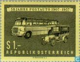 Postage Stamps - Austria [AUT] - Post Cars