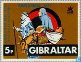 Postage Stamps - Gibraltar - Biblical scenes