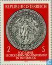 Postzegels - Oostenrijk [AUT] - Leopold-Franzens Universiteit 300 jaar