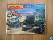 Miscellaneous - Lesney - Matchbox katalogus 1982-83