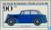 Postage Stamps - Germany, Federal Republic [DEU] - Historic cars