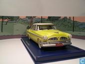 """Modelauto's  - Atlas - De gele Chrysler, uit """"De zaak Zonnebloem"""""""